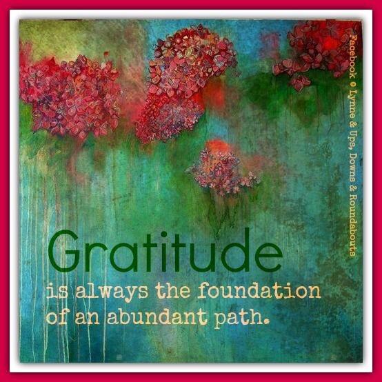 Awareness Appreciate Gratitude Abundance Life Acoustic Amplified
